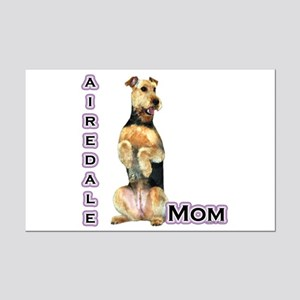 Airedale Mom4 Mini Poster Print