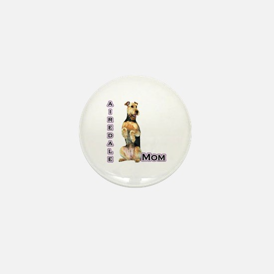 Airedale Mom4 Mini Button