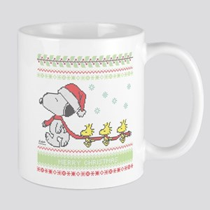 Snoopy Ugly Christmas Mug