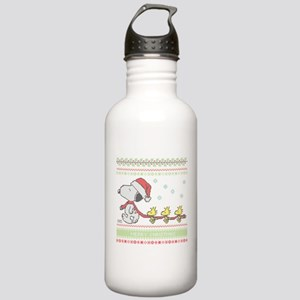 Snoopy Ugly Christmas Stainless Water Bottle 1.0L