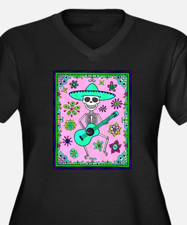 Best Seller Day of the Dead Plus Size T-Shirt