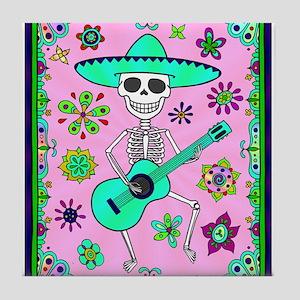 Best Seller Day of the Dead Tile Coaster