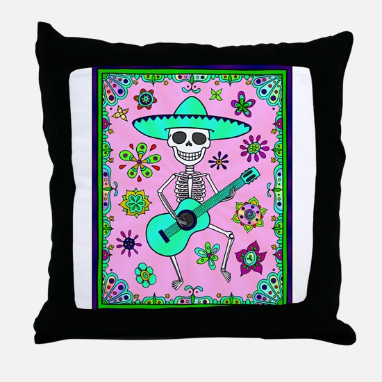 Best Seller Day of the Dead Throw Pillow