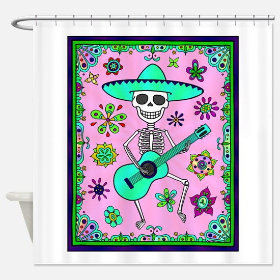 Best Seller Day of the Dead Shower Curtain