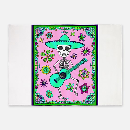 Best Seller Day of the Dead 5'x7'Area Rug