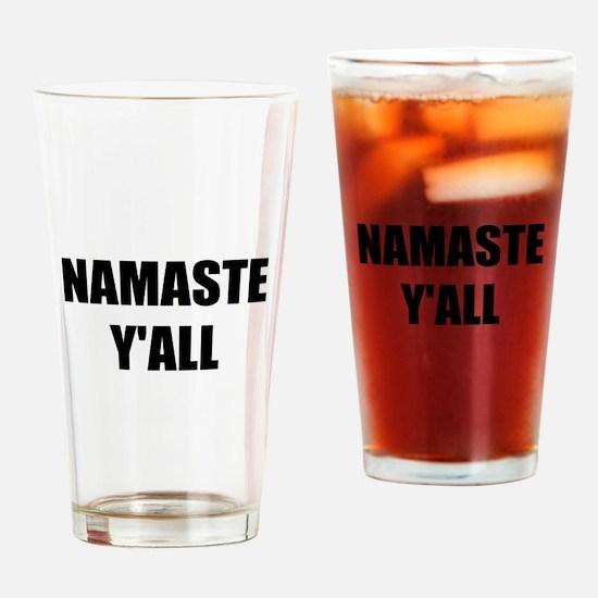 Namaste Yall Drinking Glass