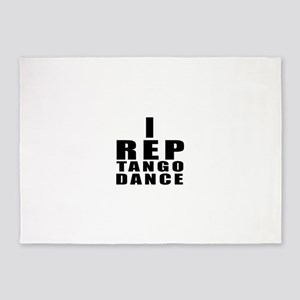 I Rep Tango Dance 5'x7'Area Rug