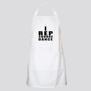 I Rep Square Dance Light Apron