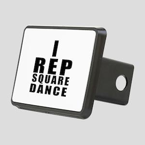 I Rep Square Dance Rectangular Hitch Cover