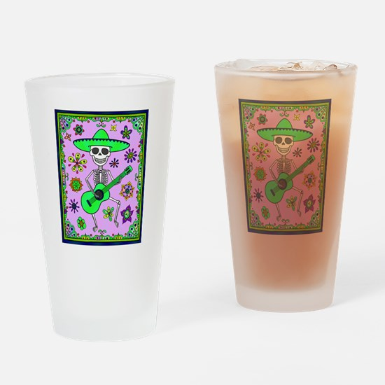 Best Seller Day of the Dead Drinking Glass