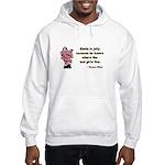 Jolly Santa Hooded Sweatshirt