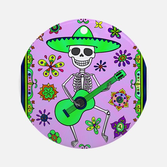 Best Seller Day of the Dead Round Ornament