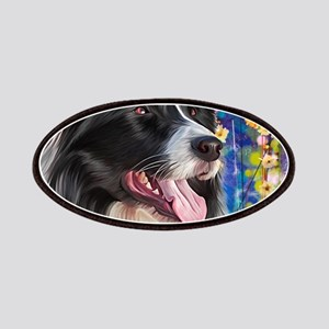 Border Collie Painting Patch