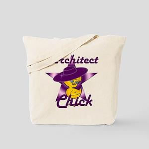 Architect Chick #9 Tote Bag