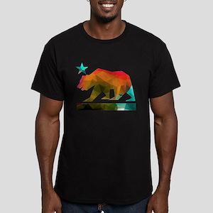 California Republic Bear (fractal design) T-Shirt