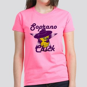 Soprano Chick #9 Women's Dark T-Shirt