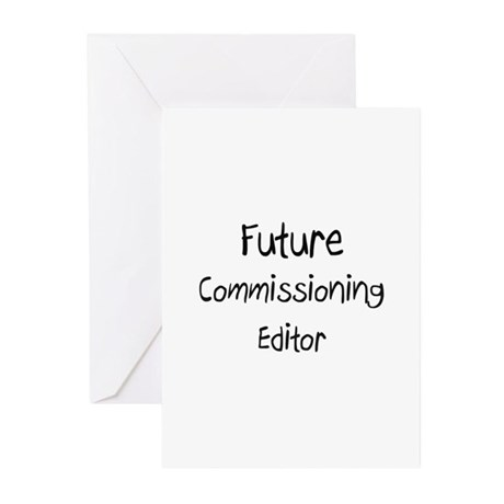 Future Commissioning Editor Greeting Cards (Pk of