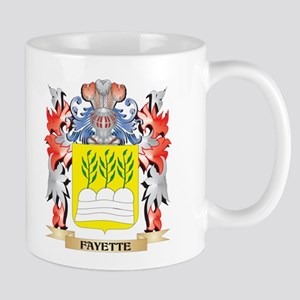 Fayette Coat of Arms - Family Crest Mugs