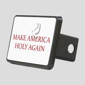 Make America Holy Again Rectangular Hitch Cover