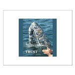 TRUST WHALE Small Poster
