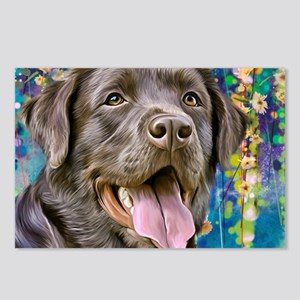 Labrador Painting Postcards (Package of 8)