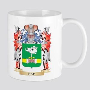 Fay Coat of Arms - Family Crest Mugs