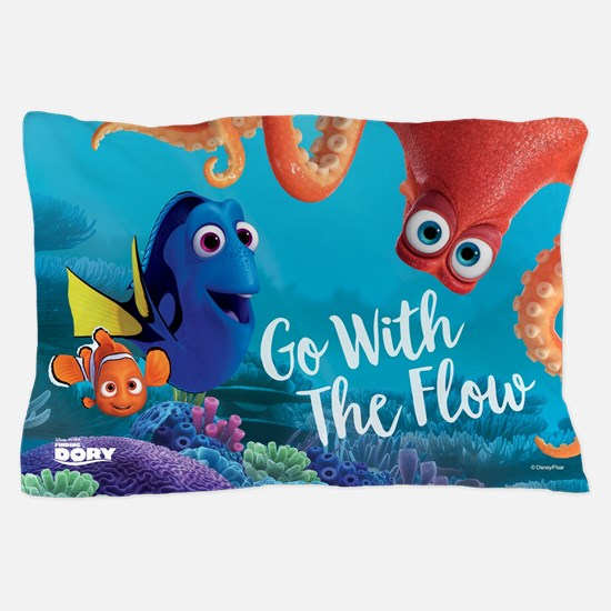 Finding Dory Go With Flow Pillow Case