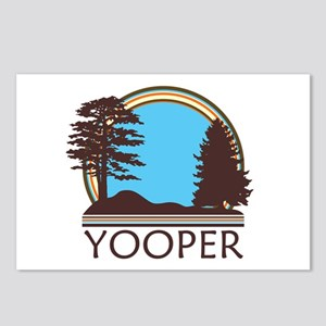 Vintage Retro Yooper Postcards (Package of 8)
