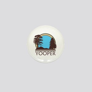 Vintage Retro Yooper Mini Button