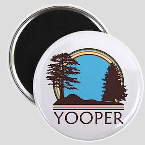 Vintage Retro Yooper Magnet