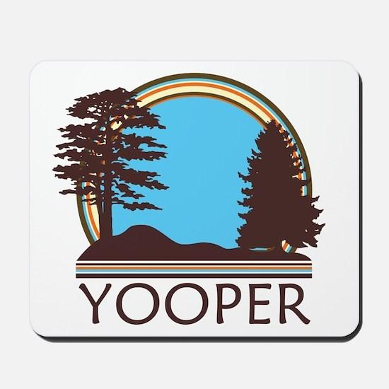 Vintage Retro Yooper Mousepad