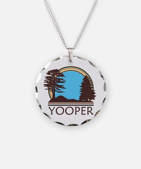 Vintage Retro Yooper Necklace