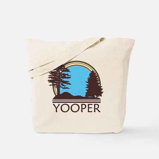 Vintage Retro Yooper Tote Bag