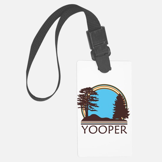 Vintage Retro Yooper Luggage Tag