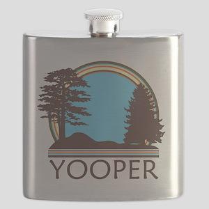 Vintage Retro Yooper Flask