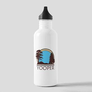 Vintage Retro Yooper Stainless Water Bottle 1.0L