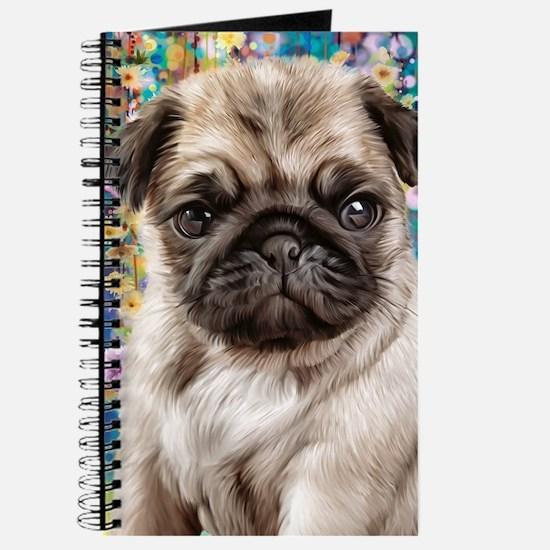Pug Painting Journal
