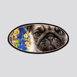 Pug Painting Patch