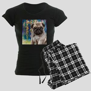 Pug Painting Pajamas