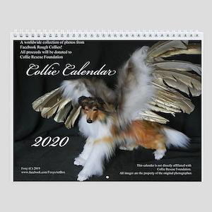 Collie 2017 Wall Calendar