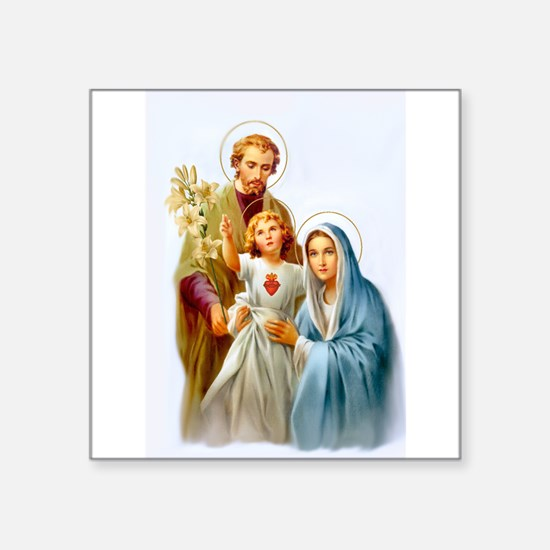 "The Holy Family Square Sticker 3"" x 3"""