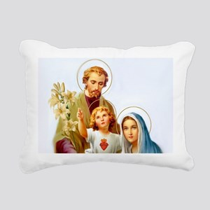 The Holy Family Rectangular Canvas Pillow