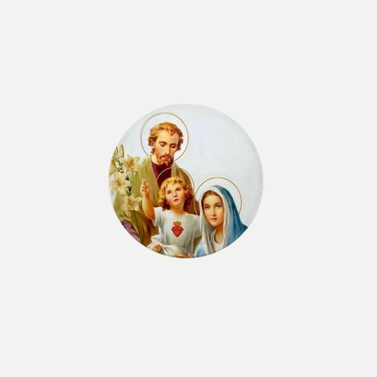 The Holy Family Mini Button