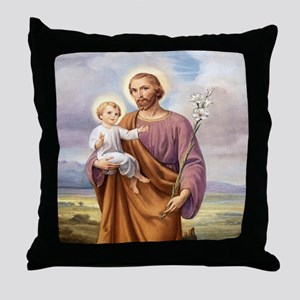 ST. JOSEPH Throw Pillow