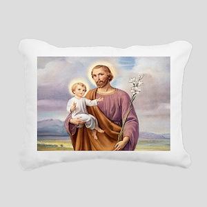 ST. JOSEPH Rectangular Canvas Pillow
