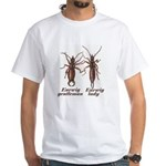 Earwig White T-Shirt