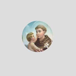 St. Anthony of Padua Mini Button