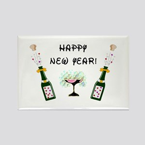 Happy New Year Rectangle Magnet