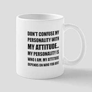 Personality Attitude Confused Mugs