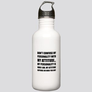 Personality Attitude C Stainless Water Bottle 1.0L